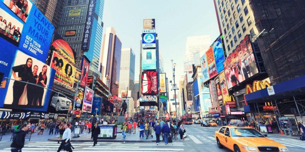 times square new york street