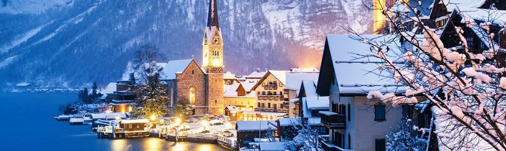 Image of Salzburg in winter