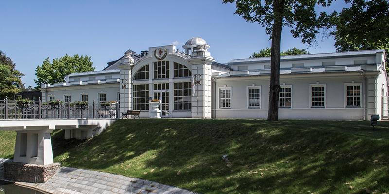 Tulpės sanatorium in Birštonas in Lithuania