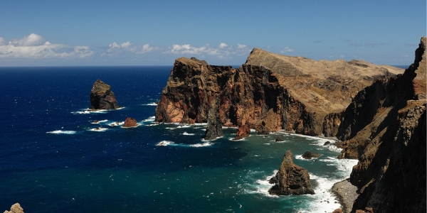 The sea view in Madeira