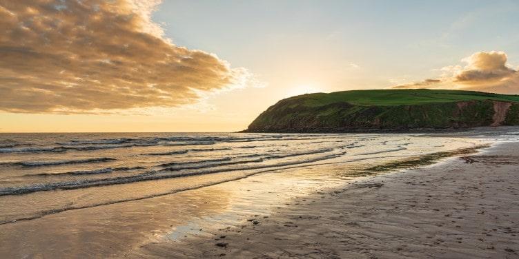 St Bees Heritage Coast in Cumbria