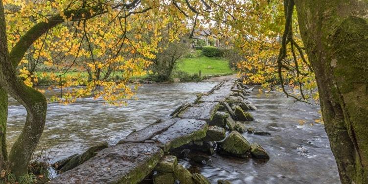 Tarr steps in Exmoor