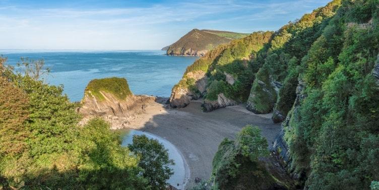 Broadsands Beach in North Devon