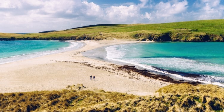St Ninian's Isle tombolo